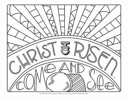 Risen Lent Christ Illustrated Ministry Children