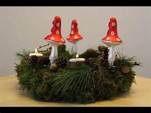 Mit Moos Basteln : adventskranz aus moos basteln youtube ~ Whattoseeinmadrid.com Haus und Dekorationen