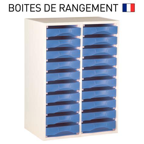 meuble de classement bureau meuble bois blanc pour boites de rangement starbox plateau