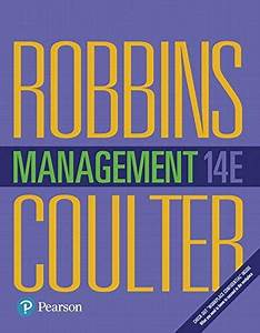 9780134527604  Management  14th Edition  - Abebooks