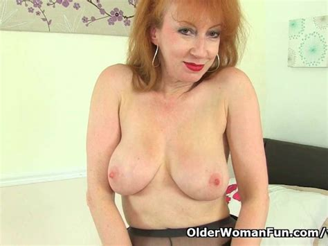 Uk Milf Red Is Looking Hot in Boots and Tights - Free Porn Videos - YouPorn