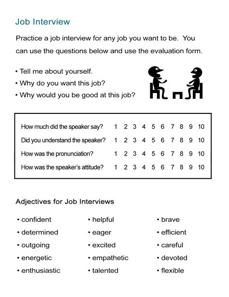 practice adjectives for resumes all esl