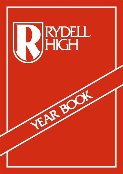 Rydell High year book by SaltEsc on DeviantArt
