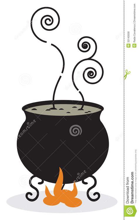 silhouette  cauldron  fire royalty  stock