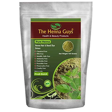 100 Pure And Natural Henna Powder For Hair Dye Color 100