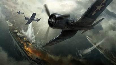 Pacific War Battle Order Corsair F4u Vought