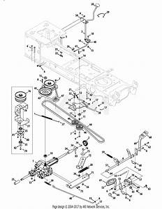 Mtd 13ax90yt001  2010  Parts Diagram For Drive System
