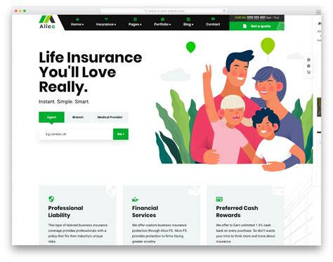 Over the years and after many websites more than 4 000 and counting we have perfected our insurance website design process. 20 Insurance Website Templates To Deliver Impeccable User Experience