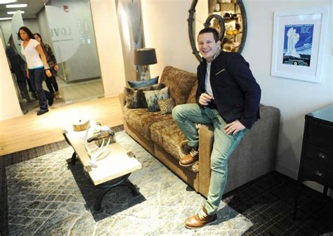 shawn nelson lovesac stamford based lovesac sees earnings increase