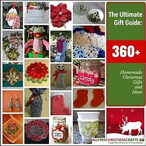 The Ultimate Gift Guide 360 Homemade Christmas Gifts and