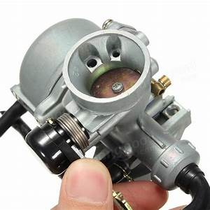 Motorcycle Scooters Carburetor Manual Choke Carb Atvs Go
