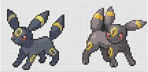 umbreon by hama girl on deviantart With umbreon pixel art template
