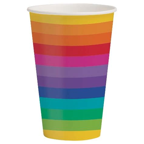 The rainbow cup will use them from the start of the tournament next weekend. Rainbow 12 Oz Cups 8 Pk : Target