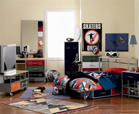 Youth Bedroom Suite Teen Trends Twin Locker Color Set