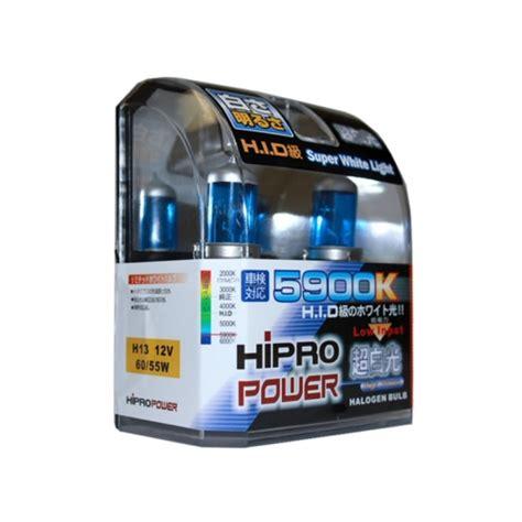 h13 9008 5900k white xenon hid halogen headlight bulb
