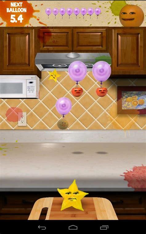 game annoying orange kitchen carnage android