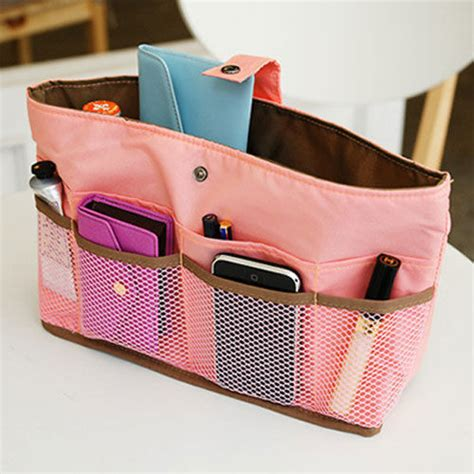Arrange Inside Your Handbag Organizerbag In Baglarge Ebay