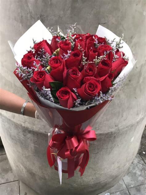 ช่อดอกกุหลาบ 25 ดอก - Kakaiflorist