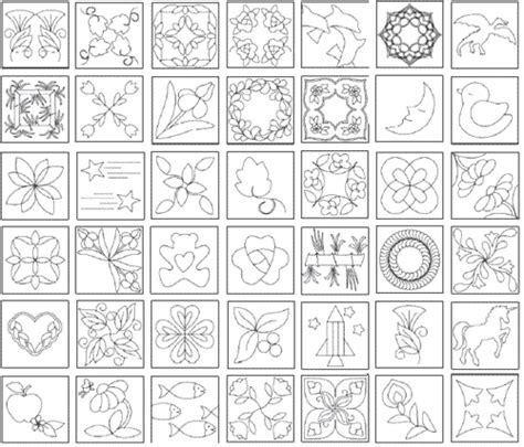 quilting templates 10 printable quilting designs the quiltmakers collection vol 2