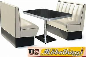 Us Diner Möbel : hw 120 120 r amerikanische m bel dinerbank eckbank diner retro usa gastronomie ebay ~ Markanthonyermac.com Haus und Dekorationen