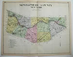 Montgomery County New York Map