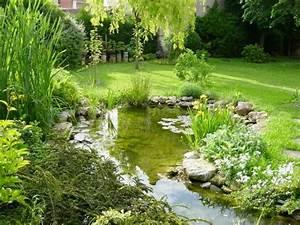 17 basta ideer om etang de jardin pa pinterest dammar With comment amenager un petit jardin 7 comment installer un ruisseau ou une cascade au bassin