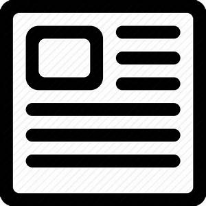Article, document, news, newspaper icon | Icon search engine