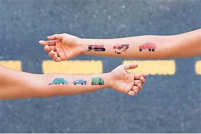 Tattly Tattoos Traffic