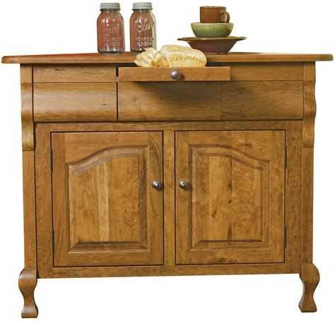 Corner Sideboards by Virginian Handcrafted Corner Sideboard Countryside Amish