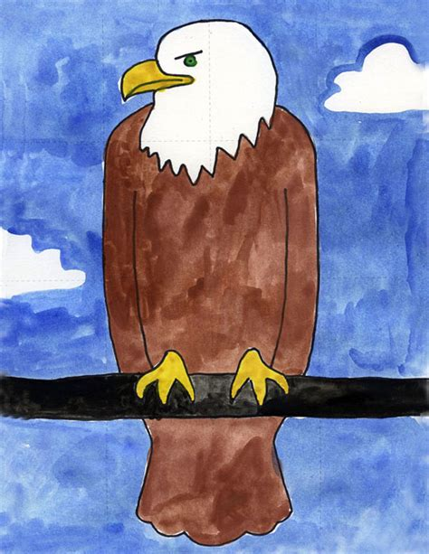 bald eagle art projects  kids