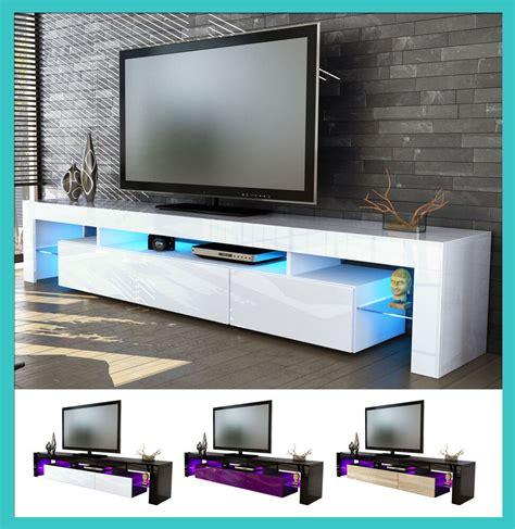 ebay mobili soggiorno mobile tavolo porta tv moderno laccato lucido salotto