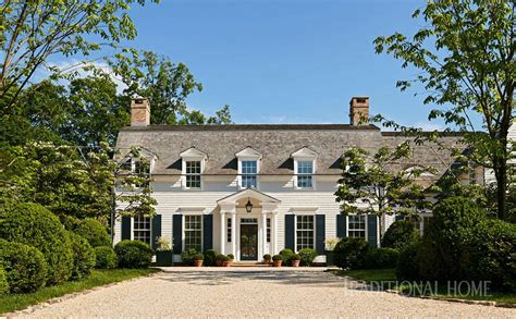 Colonial Home by Colonial Home Rooted In History Traditional Home