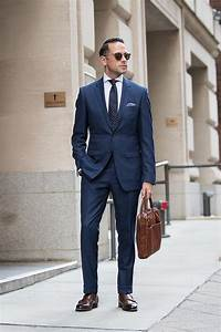 Back To Business: Classic Suit Style | He Spoke Style ...