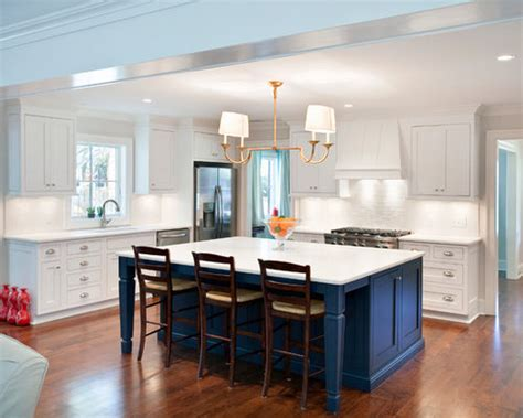 blue kitchen island home design ideas pictures remodel