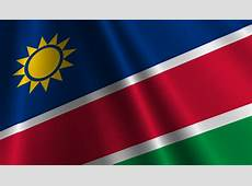 National Flag of Namibia Namibia National Flag Pictures
