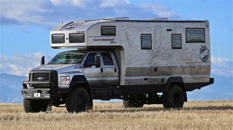 stove for sale earthroamer xv hd is a 1 5 million rolling fortress