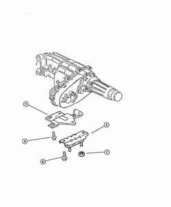 Dodge Ram 3500 Insulator  Engine Mount  Left  Front Left