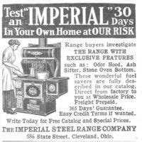 imperial steel range  ad  atadvertisementgallery imperial  ads  magazines