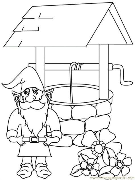 gnomes coloring page  gnomeo juliet coloring pages coloringpagescom