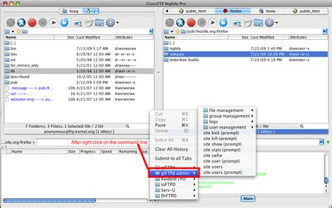 image gallery ftp commands