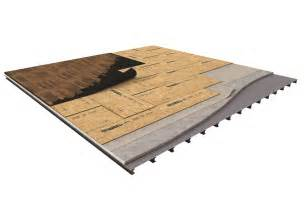 advantech panels ideal for two layer floating subfloor applications huber engineered woods