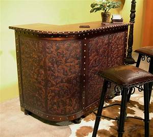 Tooled Leather Bar Western Passion