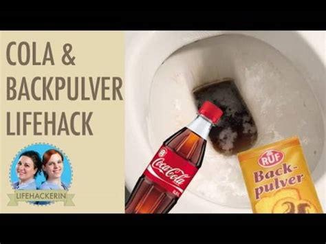 cola toilette reinigen cola backpulver und glasfaserstift die besten tipps f 252 r den fr 252 hlingsputz leben wissen