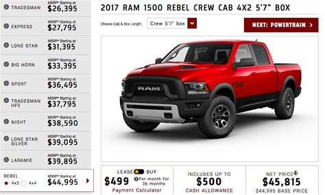 Should a 2017 Ram Rebel 4x4 Regular Cab Go Into Production