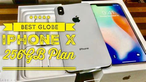 best iphone plan the best globe iphone x 256gb plan globe iconic bgc