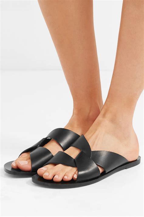 atp atelier sandals womens allai cutout leather