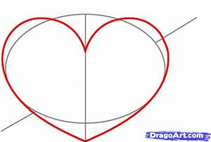 How to Draw a Heart With a Arrow, Step by Step, Tattoos ...