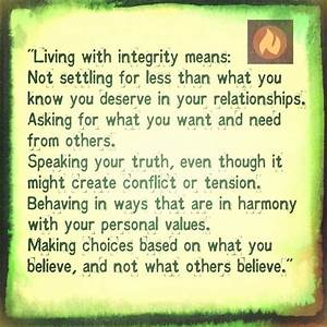 1000+ images about Integrity Quotes on Pinterest | Quotes ...