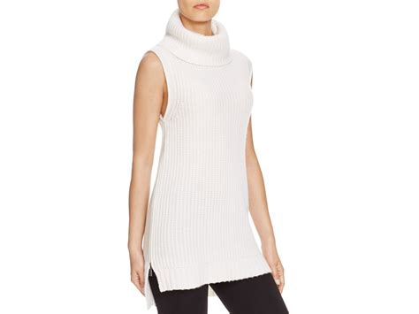 sleeveless turtleneck sweater elie tahari kate turtleneck sleeveless