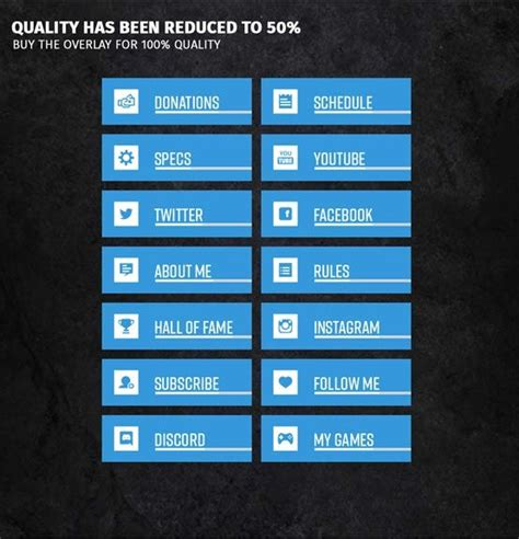 Twitch Panel Template Resume 43 Fresh Twitch Overlay Template High Resolution